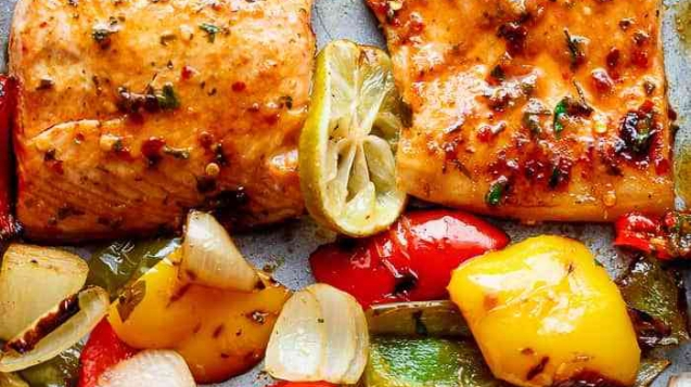 Chile Lime Salmon Sheet Pan Recipe