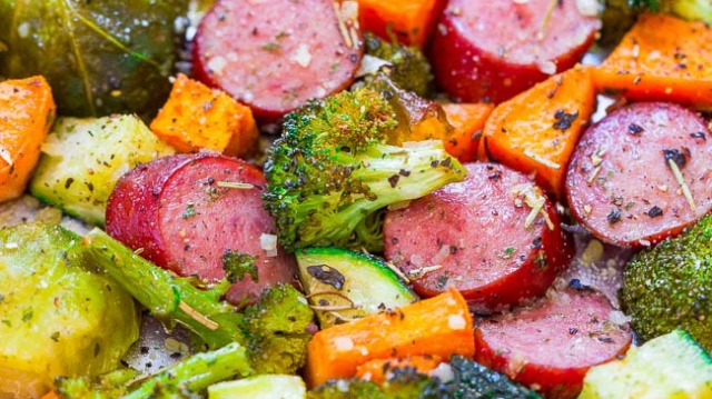 Turkey Sausage and Veggie Sheet Pan Recipe
